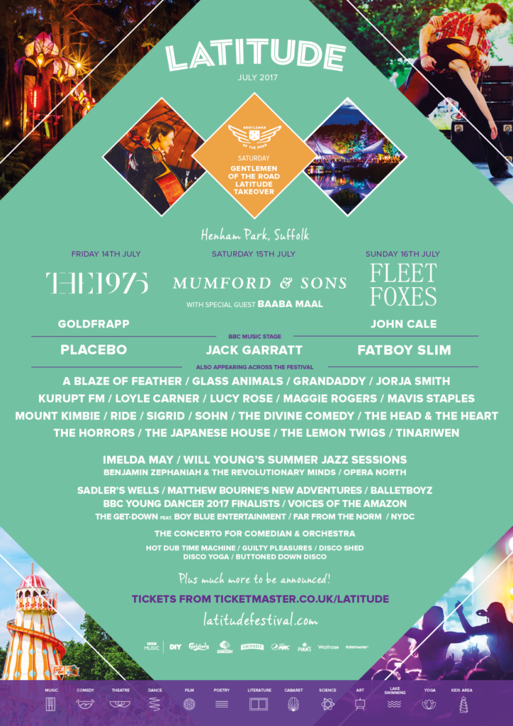Mumford And Sons Gentlemen Of The Road Edition Latitude Festiva...