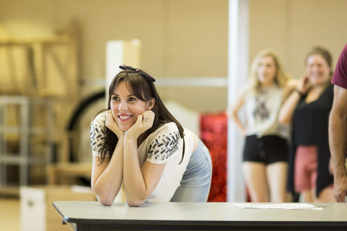 Kinky Boots Rehearsals