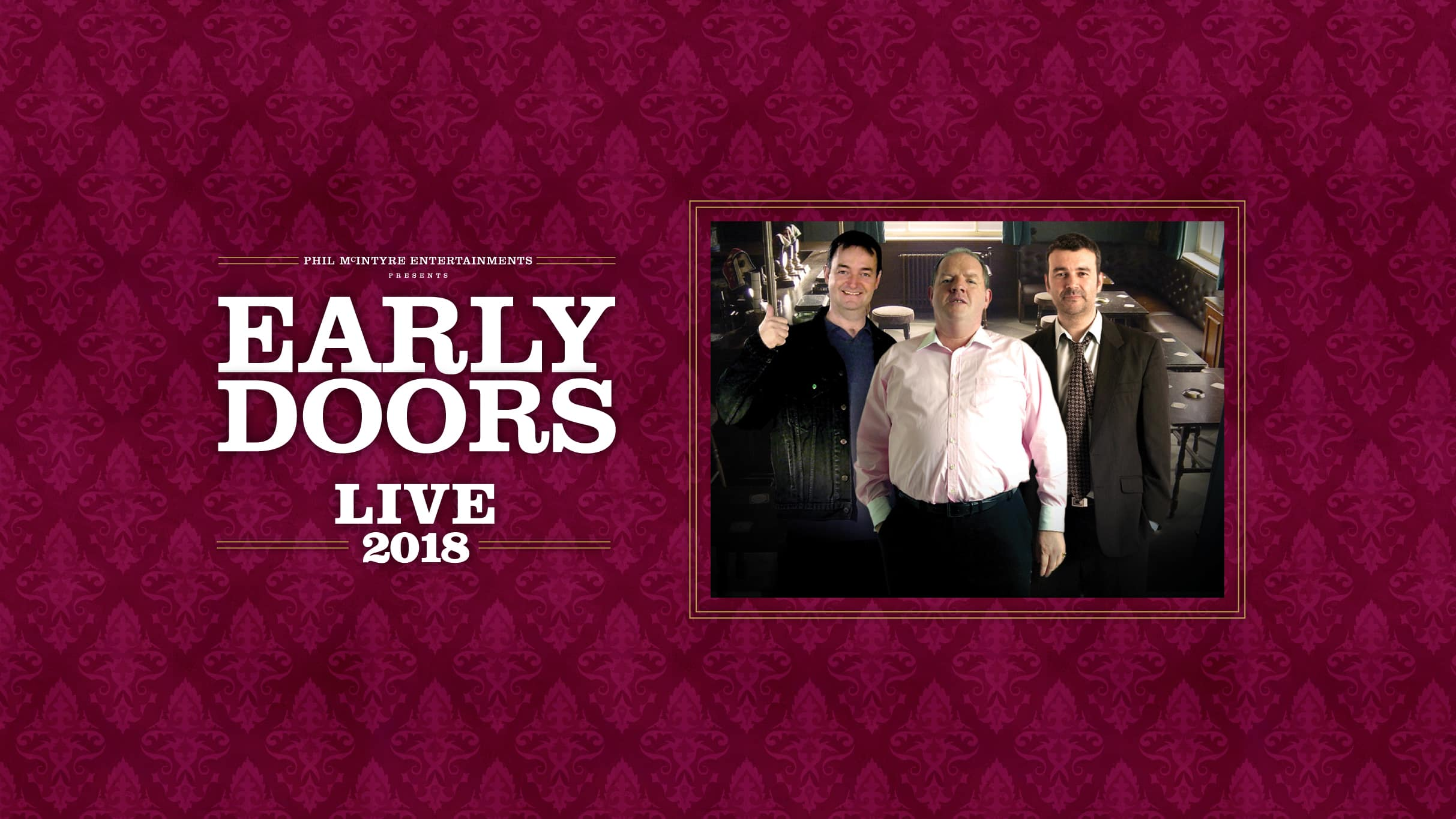 Early Doors will tour the country later this year & Early Doors will tour the country later this year | Ticketmaster ...